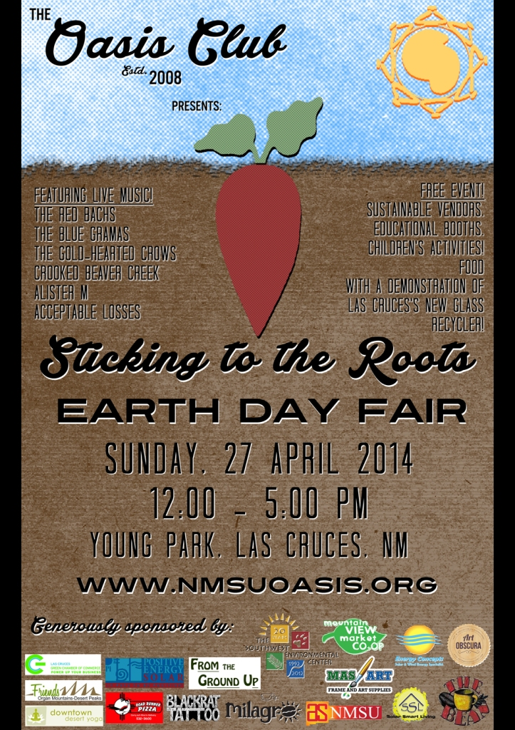 Earth Day Fair Las Cruces Style 2014 – Sticking to the Roots!
